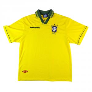 1993-94 Brasile Maglia Home XL