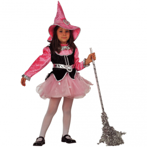 Costume Carnevale Bambina 2 anni Strega Streghetta