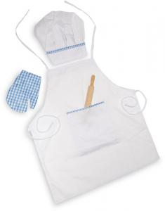 Abbigliamento ristorazione da cuoco con accessori per bambini