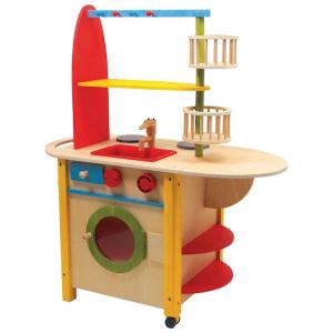 Cucina in legno All in one Deluxe giocattolo per bambini