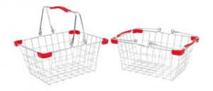 Cestino in metallo per la spesa e per bicicletta
