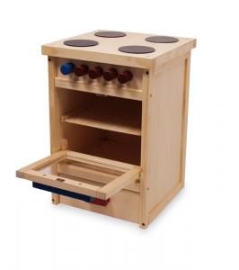 Fornello/cucina giocattolo in legno per bambina/bambino