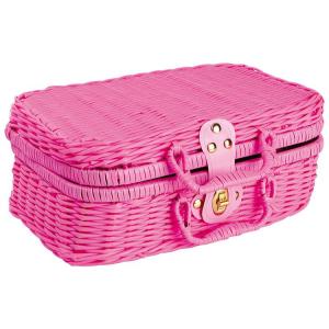 Valigia picnic con set completo 21 pezzi giocattolo per bambine