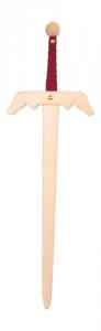 Spada in legno massiccio gioco accessorio vestito carnevale per bambini
