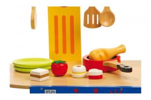 Cucina in legno per bambini modello Magia giocattolo gioco