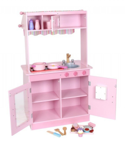Cucina giocattolo in legno mod Janina per bambini con 24 accessori Ottime rifiniture