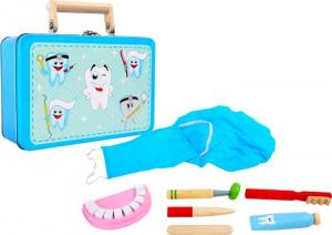 Studio dentistico in valigia giocattolo bambini