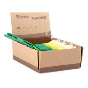 Porri di legno accessori gioco cucina 12 pezzi Legler 10134