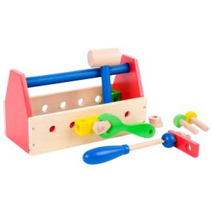 Cassetta per utensili Gioco in legno colorata
