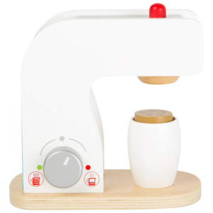 Macchina per il caffè in legno accessorio cucina bambini