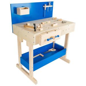 Banco di lavoro con accessori Gioco in legno