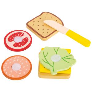 Spuntino alimento gioco accessorio cucina in legno