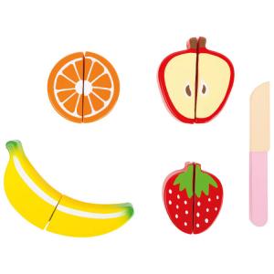 Set della frutta gioco accessori cucina in legno