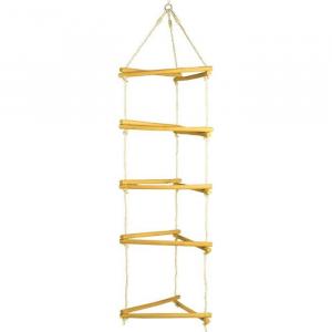 Struttura per arrampicata in legno Gioco per giardino esterno
