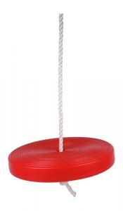 Altalena rossa in plastica