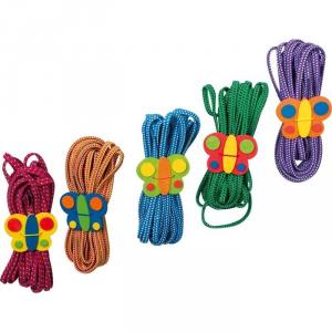 Corde Elastico per Saltare FarfallaSet da 5Gioco classico per bambini
