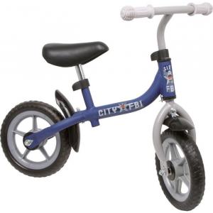 Bicicletta senza pedali Velocipede con telaio in metallo per bambini