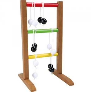 Gioco da tavolo in legno Lancio sulla scala Gioco di abilità per bambini