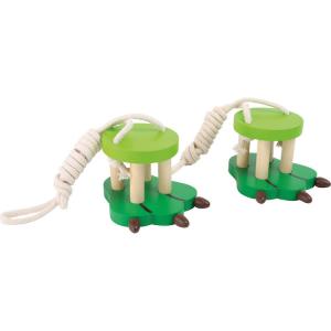 Trampoli di legno per bambini zampa Giocattolo per giardino