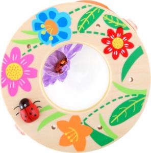 Barattolo osserva insetti con lente di ingrandimento Espositore display