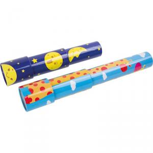 Display caleidoscopi con motivi gioco per bambini 12 pezzi Legler 10293