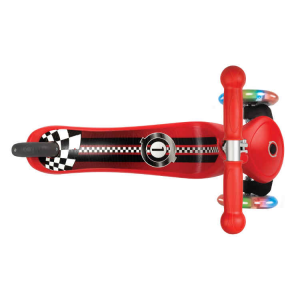 Monopattino a 3 Ruote doppia iniezione Globber PRIMO FANTASY Lights Up Racing03
