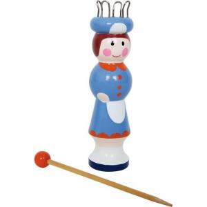 Kit per lavorare a maglia giocattolo per bambine