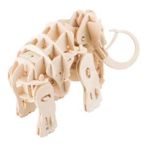 Set costruzioni in legno Mammut robot con movimento e suoni