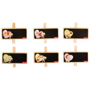 Lavagnetta con mollette decorativa da scrivere Lillebi Legler Espositore