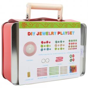 Set Gioielli fai-da-te in valigia gioco per bambine