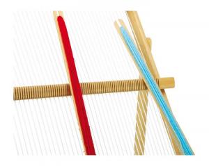 Telaio da Tessitura Giocattolo con 2 stecche MAXI