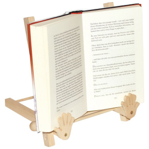 Leggio in legno massiccio regolabile in due posizioni