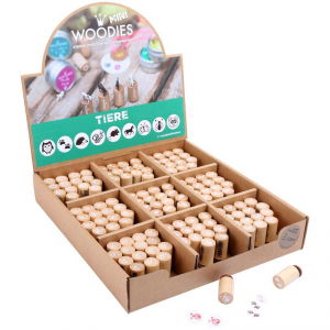 Display espositore tamponcini per Timbri Woodies Numeri Legler 10312