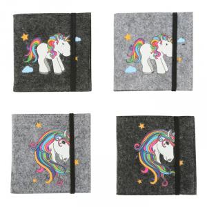 Taccuino Unicorno Set 4 pezzi Legler 10759
