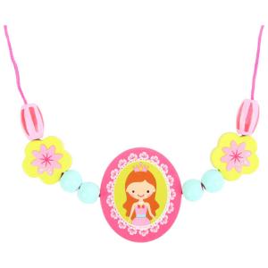 Perle da infilare in legno per creare collane e bracciali Principessa