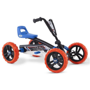 Go kart a pedali per bambini BERG Buzzy BSX Nitro Nero