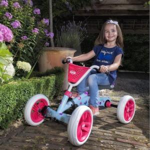 Go kart a pedali per bambini BERG Buzzy Bloom Azzurro