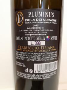 Pluminus Isola dei Nuraghi IGT 2015 - Ferruccio Deiana