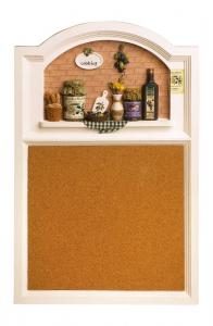Lavagna Pannello da cucina per promemoria in legno