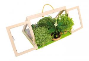 Serra fioriera casetta forma di Piramide per coltivazione piante e fiori