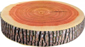 Cuscino pouf tronco morbido arredo casa