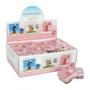 Asciugamano magico principessa espositore display 36 pezzi