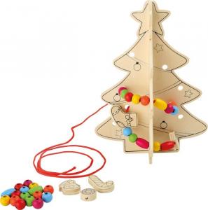 Albero di Natale da infilare ed addobbare Set da 8 espositore display