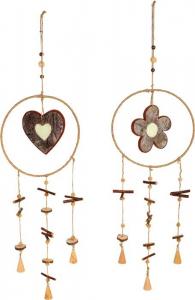 Acchiappasogni pendagli decorativi in legno Sogno di natura