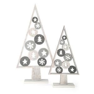 Albero decorativo Natale con motivo natalizio Legler 10206