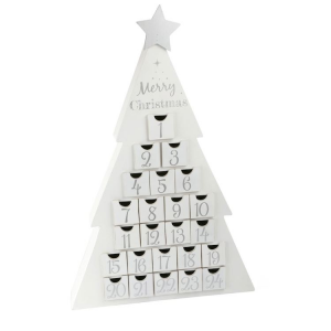 Calendario dell'Avvento in legno Merry Christmas Legler 10540