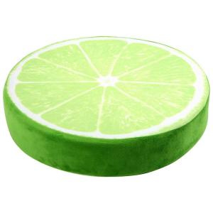 Pouf cuscino morbido Lime arredo casa