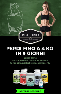 MUSCLE DETOX SPECIAL PACK - Lose Up To 4 Kg In 9 Days, WITHOUT FAME- By Claudio Tozzi