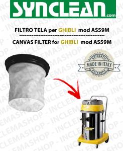 AS59 M FILTRO TELA PER aspirapolvere GHIBLI