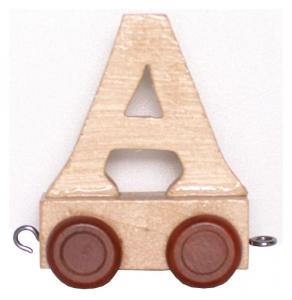 Lettera in legno per Trenino nome Bambini dalla A alla Z